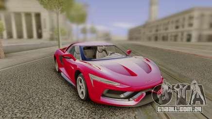 2016 Genesi Model 5 Concept para GTA San Andreas