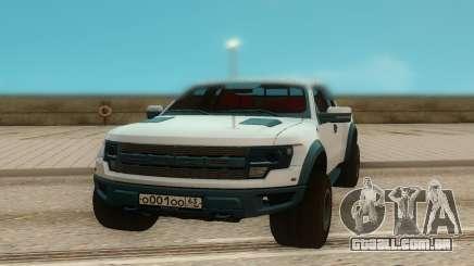 Ford Raptor para GTA San Andreas