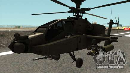 AH-64D Philippine Air Force para GTA San Andreas