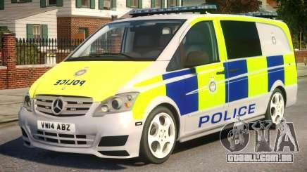 Mercedes-Benz Vito Police V.1.3 para GTA 4