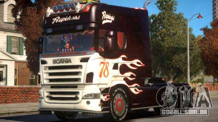 Scania R580 Longline Custom PJ7 para GTA 4