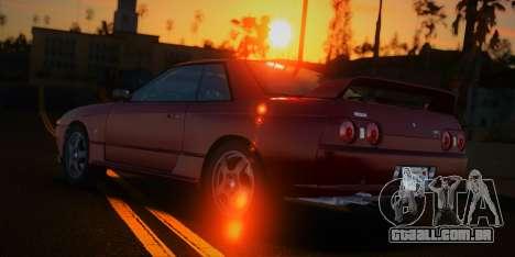 Nissan Skyline GT-R (BNR32) 1989 para GTA San Andreas vista direita