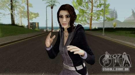 Zoe Castillo from Dreamfall Chapters para GTA San Andreas