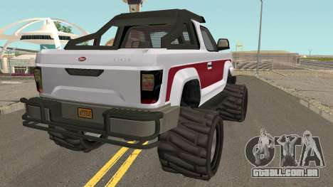 Vapid Riata GTA V IVF para GTA San Andreas