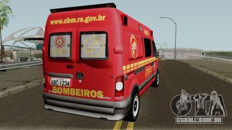 Renault Master Brazilian Ambulance para GTA San Andreas