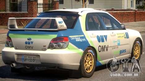 Subaru Impreza WRX STi PJ3 para GTA 4