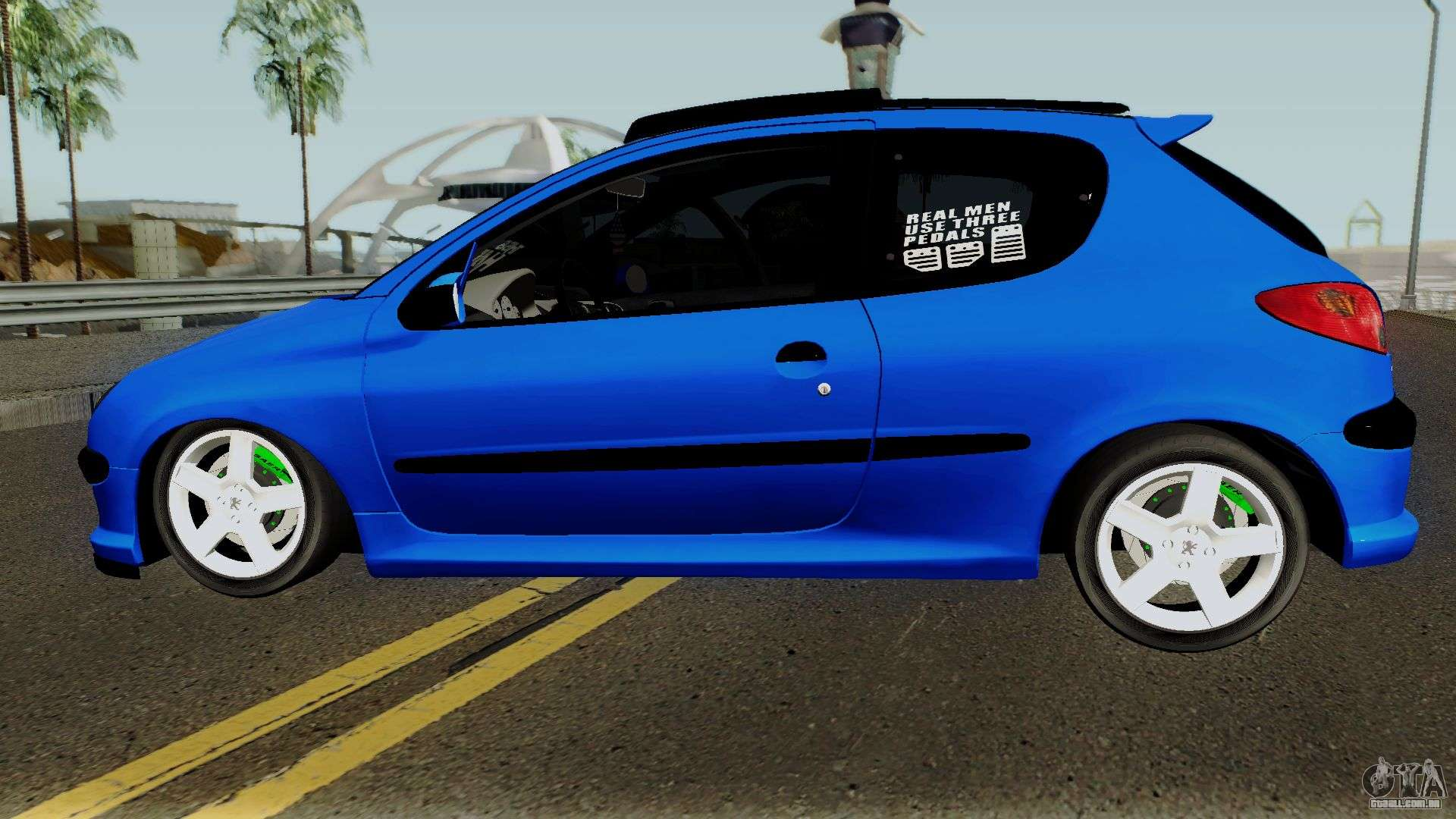 Peugeot 206 Rc Para Gta San Andreas