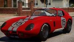 1965 Shelby Cobra PJ4 para GTA 4