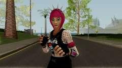 Guitarrista (Rockgirl) From Fortnite para GTA San Andreas