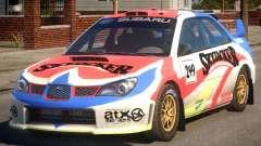 Subaru Impreza WRX STi PJ4 para GTA 4