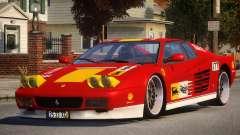ViP Ferrari 512 TR PJ4 para GTA 4