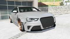 Audi RS 4 Avant (B8) 2013 LibertyWalk [replace] para GTA 5