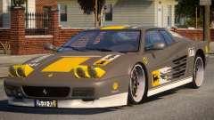 ViP Ferrari 512 TR PJ2 para GTA 4