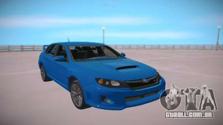 Subaru Impreza WRX STi 2011 Blue para GTA San Andreas