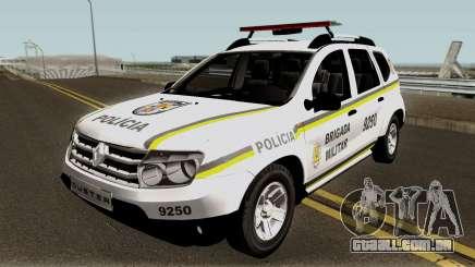Renault Duster Policia para GTA San Andreas