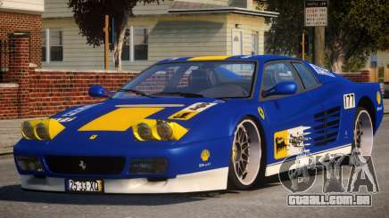 ViP Ferrari 512 TR PJ1 para GTA 4