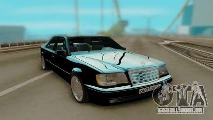 Mercedes-Benz W124 E500 Black para GTA San Andreas
