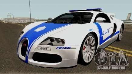 Bugatti Veyron 16.4 Algeria Police 2009 para GTA San Andreas
