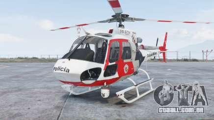 Helibras AS350 B2 Policia Militar [add-on] para GTA 5