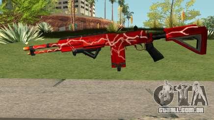 Rules Of Survival M4 para GTA San Andreas