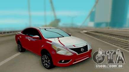 Nissan Versa Sedan 2015 para GTA San Andreas