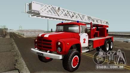 ZIL-133 TN Fogo caminhão escada para GTA San Andreas