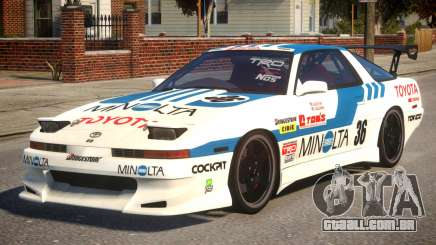 1992 Toyota Supra Tuner Version para GTA 4