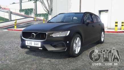 Volvo V60 2018 Unmarked Police [ELS] [replace] para GTA 5