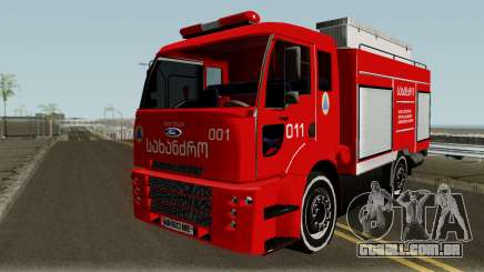 Ford Cargo Geo Firetruck para GTA San Andreas