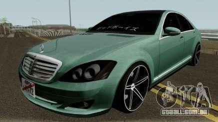 Mercedes-Benz S500 Vossen para GTA San Andreas