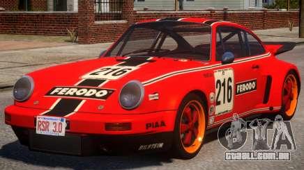 1974 Porsche 911 PJ3 para GTA 4