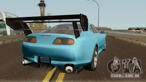 Dinka Jester Classic or F&F GTA V para GTA San Andreas vista direita