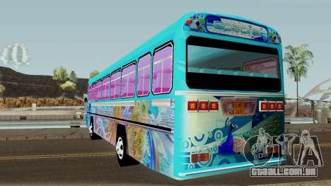 Monara Patikki para GTA San Andreas traseira esquerda vista
