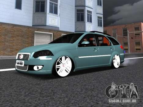Fiat Palio Weekend para GTA San Andreas