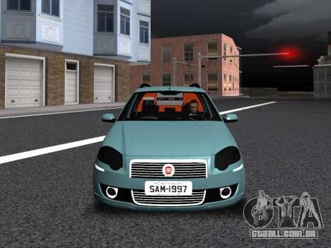 Fiat Palio Weekend para GTA San Andreas esquerda vista