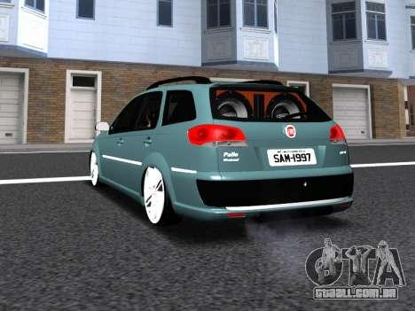 Fiat Palio Weekend para GTA San Andreas vista direita