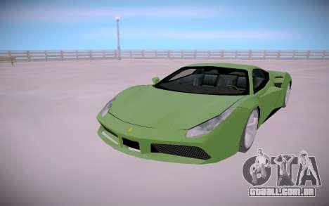 Ferrari 488 Low para GTA San Andreas