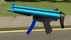 MP5 Blue para GTA San Andreas