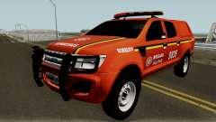 Ford Ranger Brazilian Police para GTA San Andreas