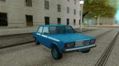 2107 sedan Azul para GTA San Andreas