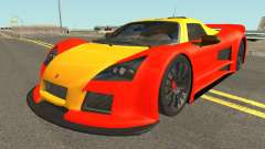 Gumpert Apollo 2M-Designs para GTA San Andreas