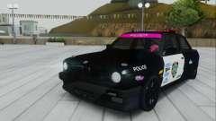BMW E30 Police para GTA San Andreas