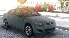 BMW M5 E60 Grey para GTA San Andreas