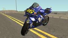 Yamaha YZF M1 2018 para GTA San Andreas