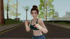 Mai Shiranui (Mexico New ver) para GTA San Andreas