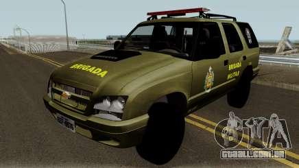 Chevrolet Blazer Brasilian Police para GTA San Andreas