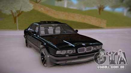 BMW E34 Black para GTA San Andreas