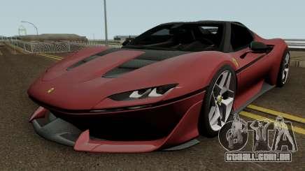 Ferrari J50 2017 HQ para GTA San Andreas