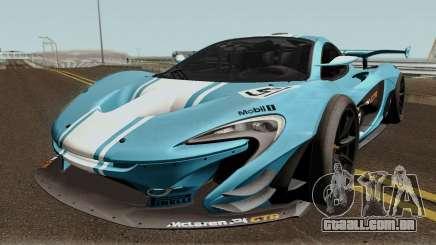 Mclaren P1 GTR 2016 para GTA San Andreas