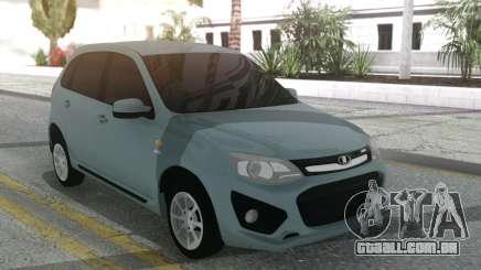 Lada Kalina Sport Grey para GTA San Andreas